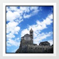Rock Castle Art Print