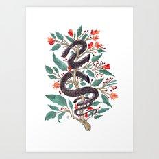 Life in Eden Changed Art Print