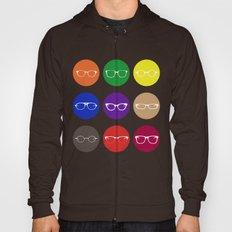 9 Glasses Styles Hoody