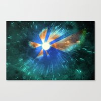 Light Flares Canvas Print