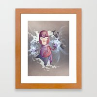 Magneto Kaffee Time Framed Art Print