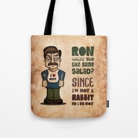 Ron Swanson 2 Tote Bag