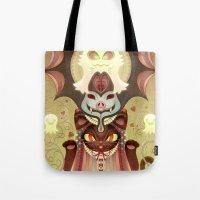 Trick-or-Treat Totem Tote Bag