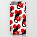 Le Chat Noir with Chocolate Candy Gift iPhone & iPod Case