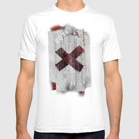 Cross My Heart And Hope … Mens Fitted Tee White SMALL