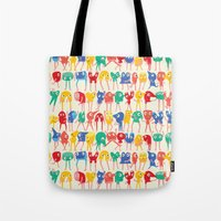 Dancing murs  Tote Bag