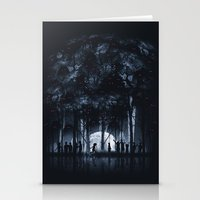 Creatures Rule The Night Stationery Cards