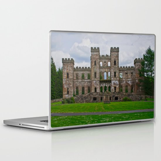 Loudoun Castle Ruin  Laptop & iPad Skin