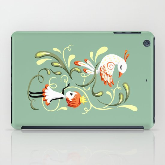Princess and a Bird iPad Case