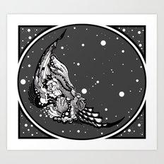 Carrion Art Print