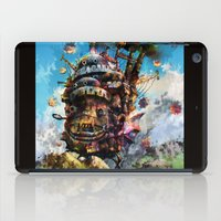howl's moving castle iPad Case