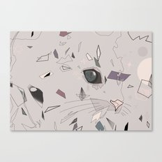 serious cat Canvas Print