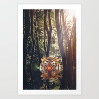 It's a jungle Art Print