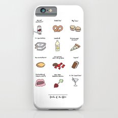 Foods of The Office Slim Case iPhone 6s