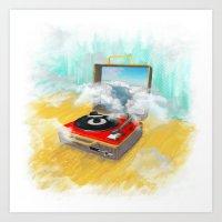 Daydream (Analog Zine) Art Print