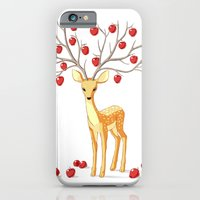 iPhone & iPod Case featuring Autumn Fawn by Freeminds