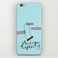 Swing HIGHER  iPhone & iPod Skin