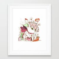 We're Cuter Than Your Bo… Framed Art Print