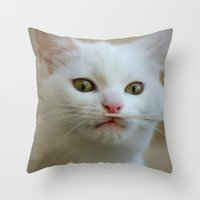 What is this??? Throw Pillow