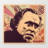 Bukowski Canvas Print
