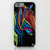 iPhone & iPod Case featuring ZebrArt by kojoshop
