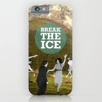 iPhone & iPod Case featuring Break The Ice by Visionautas