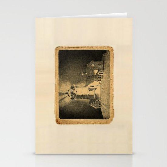 Night Light Stationery Card