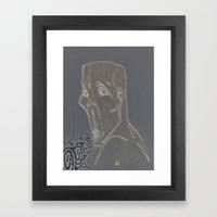 He Who Hallows Framed Art Print
