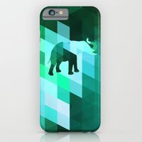 Emerald Elephant iPhone 6 Slim Case