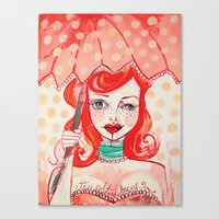 The Strawberry Canvas Print