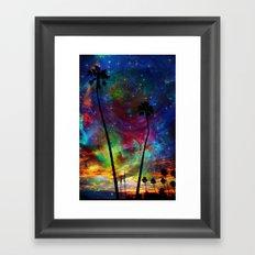 Magical Palms Framed Art Print