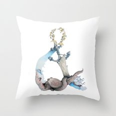 Ocean Memories Throw Pillow