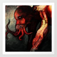 Are You There Cthulu? It… Art Print