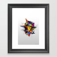 Abstract Geometric Art Framed Art Print