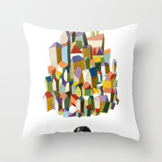 read a city Throw Pillow