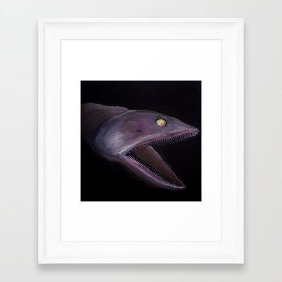 Bioluminescence I Framed Art Print