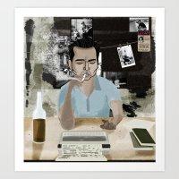 Rum Diary Art Print