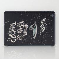 Yo, Grrrl... Wanna Nerd Out Tonight? iPad Case