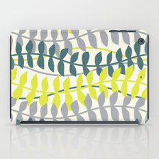 seagrass pattern - teal and lime iPad Case