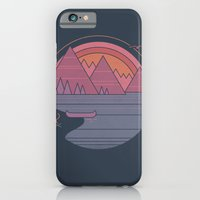 iPhone Cases featuring The Mountains are Calling by Rick Crane