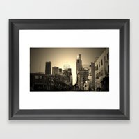 Round up the crew Framed Art Print