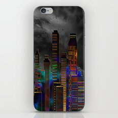 Pearlescent City iPhone & iPod Skin
