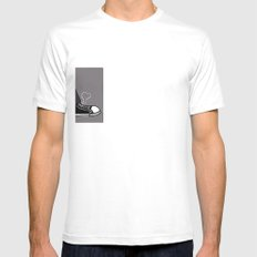 Converse Love Mens Fitted Tee SMALL White