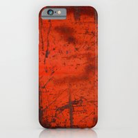 Red Roof Hatch iPhone 6 Slim Case