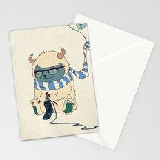Knitting Train Stationery Cards