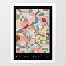 Katzenjammer Art Print