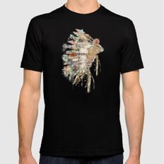 Headdress Mens Fitted Tee Black SMALL