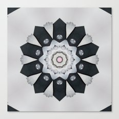 Bridal mandala Canvas Print