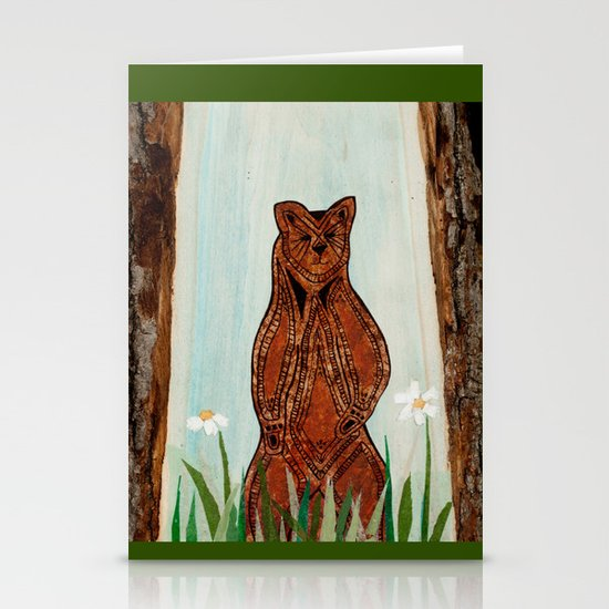 Standing Bear Stationery Card