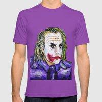 Gotham Is Mine - Heath L… Mens Fitted Tee Ultraviolet SMALL